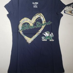 Pro Edge Notre Dame Girls Tee